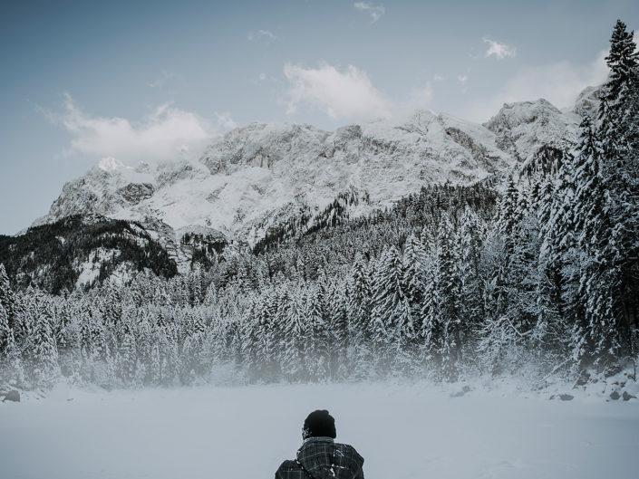Eibsee Winterimpressionen